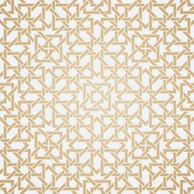 Fotomural Patrón de tejido sin costuras en estilo oriental