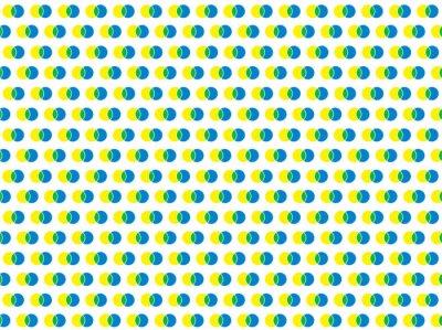 Fotomural Patrón de vector transparente de lunares blancos
