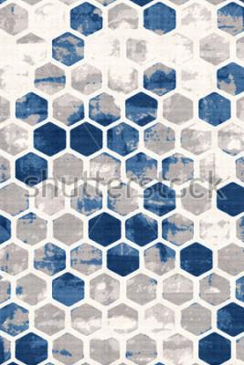 Fotomural Patrón moderno de textura de acuarela
