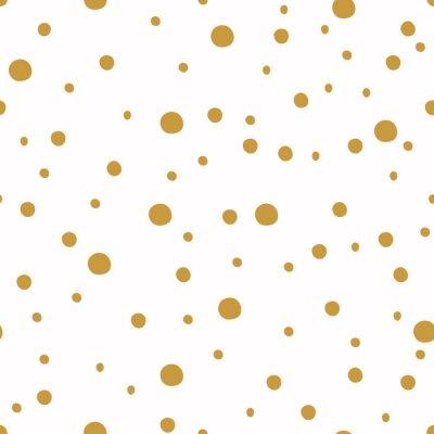 Fotomural Patrón transparente con punto. Fondos de Navidad.