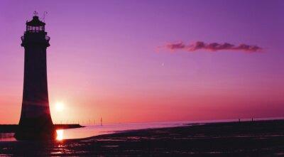 Fotomural Perch Rock, Faro, Nueva Brighton, Wirral