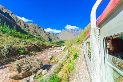 Fotomural Perú Tren de Cuzco a Machu Picchu Perú