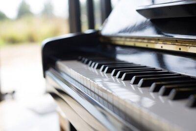 Fotomural Piano es un instrumento de música que es un teclado y popular entre los niños.