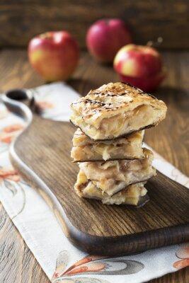 Fotomural pie de manzana