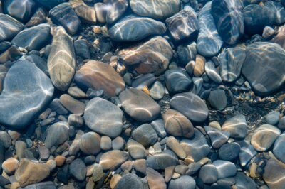 Fotomural Piedras bajo el agua.