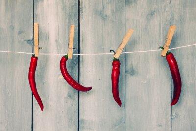 Fotomural Pimienta de chile