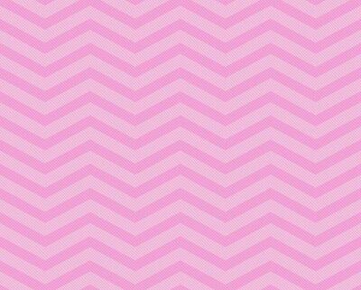 Fotomural Pink Chevron del zigzag con textura de la tela del modelo del fondo