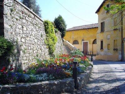 Fotomural Pintoresco streen en Italia