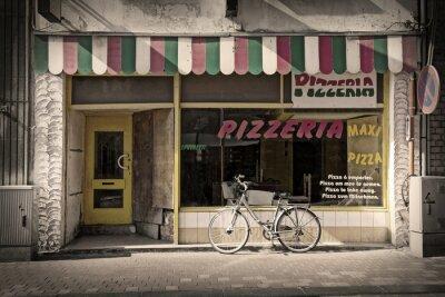 Fotomural pizzería