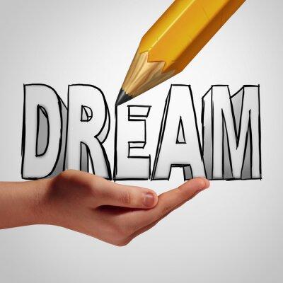Fotomural Planificación de sueños