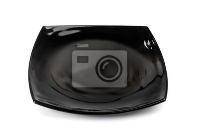 Fotomural plato negro