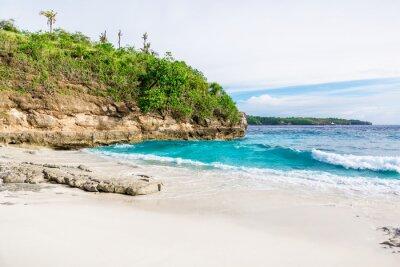 Fotomural Playa de arena blanca tropical