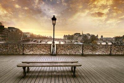 Fotomural Pont des Arts de París