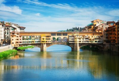 Fotomural Ponte Vecchio, Florencia, Italia