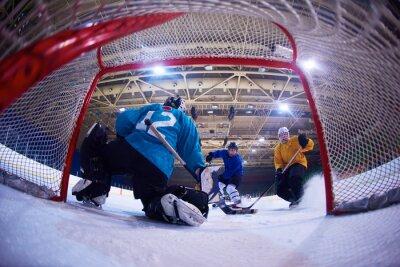 Fotomural portero de hockey sobre hielo