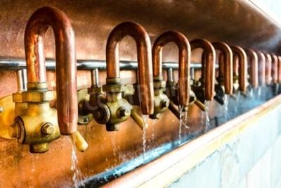 Fotomural Producción de cerveza