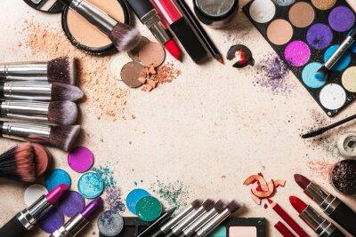 Fotomural Productos de maquillaje