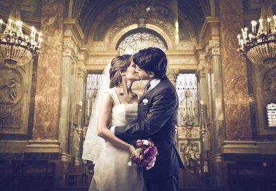 Fotomural Puede besar a la novia