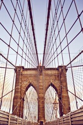 Fotomural Puente de Brooklyn en Nueva York