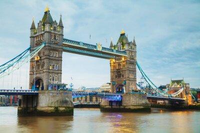 Fotomural Puente de la torre en Londres, Gran Bretaña