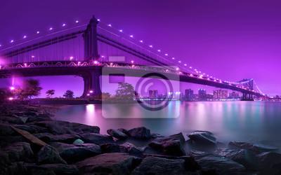 Fotomural Puente de Manhattan Nueva York