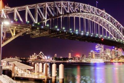Fotomural puente del Puerto