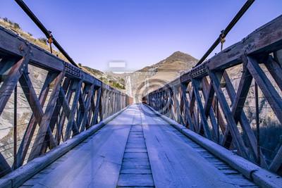 Fotomural Puente helado