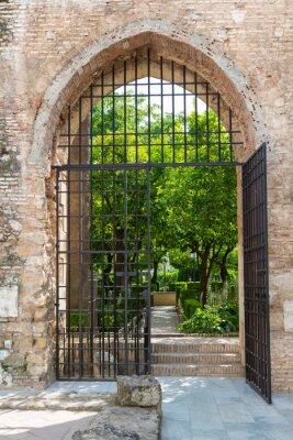 Fotomural Puerta de los jardines del Alcázar de Córdoba