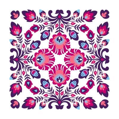 Fotomural Púrpura patrón popular