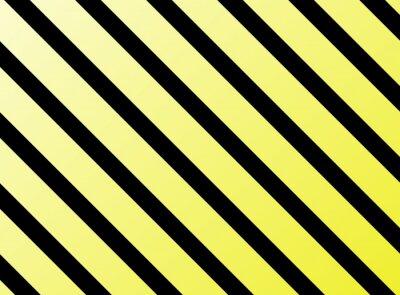 Fotomural rayas diagonales negro amarillo