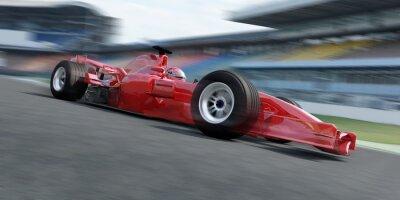 Fotomural Rennstrecke racer f1