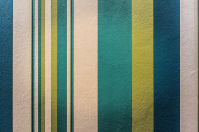 Fotomural Resumen colorido de fondo vintage con rayas patrón en la pared