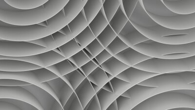Fotomural Resumen de antecedentes con espirales, 3 d procesar