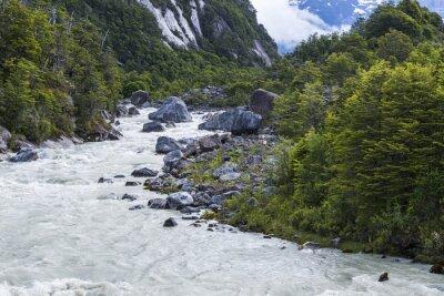 Fotomural Río Exploradores, Chile
