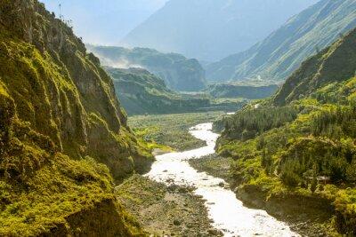 Fotomural Río Pastaza En Ecuador