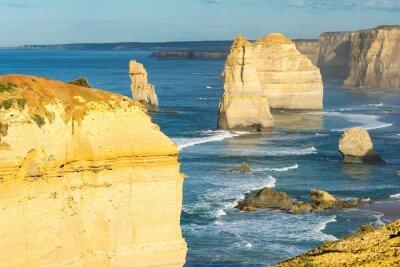 Fotomural Rocas de los Doce Apóstoles a lo largo de la costa australiana