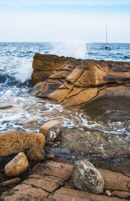 Fotomural Rocas en la costa