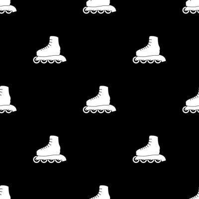 Fotomural Roller skate deporte icono