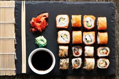 Fotomural Rollos de sushi