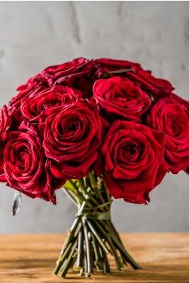 Fotomural rosas rojas