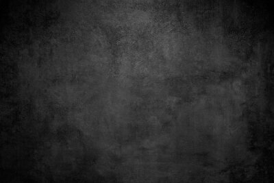 Fotomural Rough Black wall slate texture rough background, dark concrete floor or old grunge background