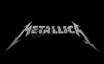 Fotomural RUSIA - 09 DE FEBRERO DE 2017: Metallica nuevo logo