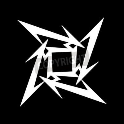 Fotomural RUSIA - 09 DE FEBRERO DE 2017: Símbolo Metallica