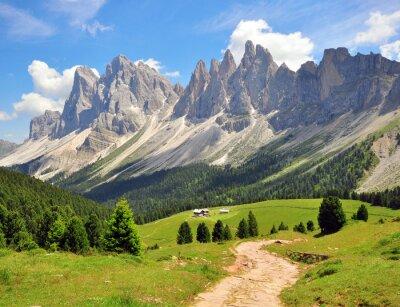 Fotomural Ruta de senderismo en los Alpes