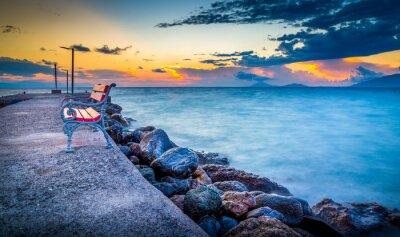 Fotomural Salida del sol en la isla de Kos