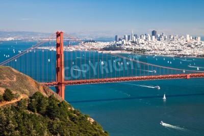 Fotomural San Francisco Panorama desde San Francisco Bay