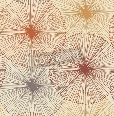 Fotomural Sandy y elementos radiales anaranjadas fondo sin fisuras para los patrones, las tarjetas, los textiles, papeles pintados, páginas web