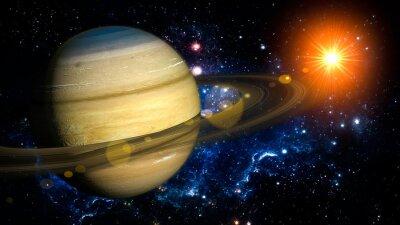 Fotomural Saturno