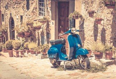 Fotomural Scooter en Toscana