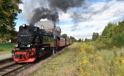 Fotomural Selketalbahn